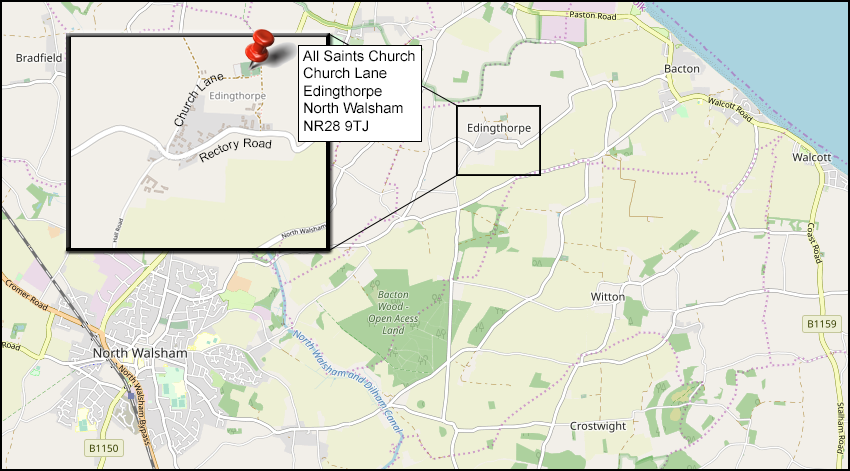 church location map
